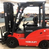 2017 Electric Noblelift FE4P55N Pneumatic Tire 4 Wheel Sit Down
