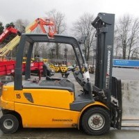2009 Electric Jungheinrich EFG 540 Electric 4 Wheel Sit Down
