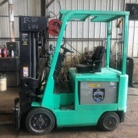 1999 Electric Mitsubishi 2FBC25 Electric 4 Wheel Sit Down