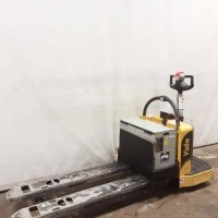 2015 Electric Yale MPE060VG Electric Walkie Rider Pallet Jack