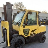 2019 LP Gas Hyster H100FT Pneumatic Tire 4 Wheel Sit Down