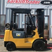 LP Gas Cat FG15 Pneumatic Tire 4 Wheel Sit Down